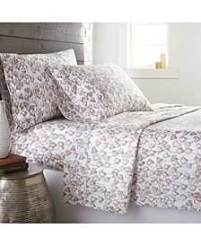 Forevermore Luxury Cotton Sateen 4 Piece Extra Deep Pocket Sheet Set, Full