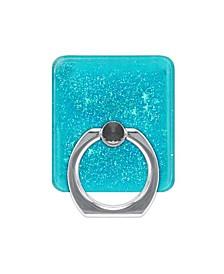 Liquid Glitter Design Ring Stand Phone Holder