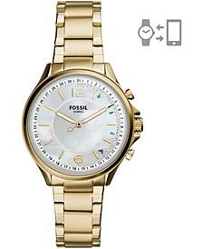 Women's Sadie Gold-Tone Stainless Steel Bracelet Hybrid Smart Watch 36mm