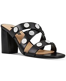 Yoana Studded Slides