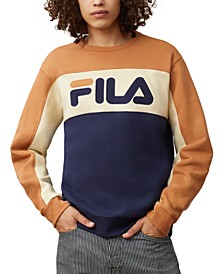 Men's Colorblocked Fleece Sweatshirt