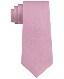 Men's Textured Solid Tie