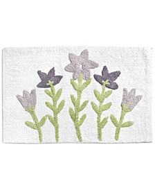 "Flower Bed 21"" x 34"" Bath Rug, Created For Macy's"