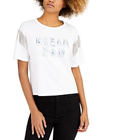 Davina Embellished Graphic T-Shirt