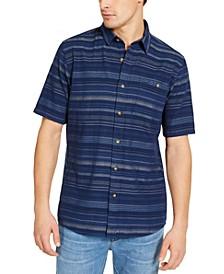 Men's Slim-Fit Kay Street Striped Short Sleeve Shirt