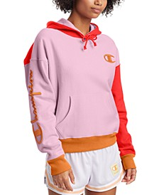 Women's Reverse Weave Colorblocked Hoodie
