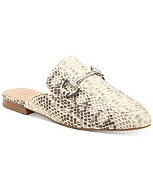 INC Women's Gilia Bit Mule Loafers, Created for Macy's