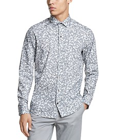 Men's Performance Stretch Camo-Print Shirt
