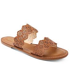 XOXO Ramsey Double Band Slide Sandals
