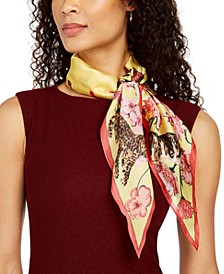 INC Kitty Garden Bandana Kite Scarf, Created for Macy's