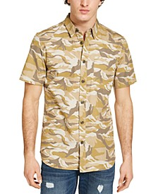 Men's Desert Camo Shirt, Created for Macy's