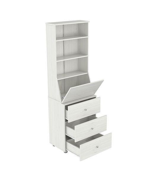 Inval America 3-Shelf Bookcase
