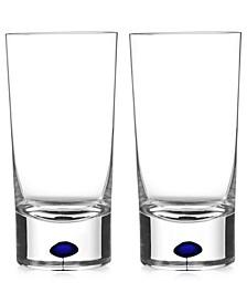 Intermezzo Blue Highball Pair
