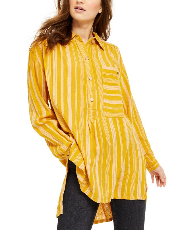 Free People Summer Breeze Striped Top