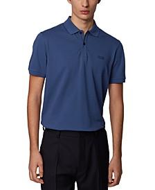 BOSS Men's Pallas Dark Blue Polo Shirt