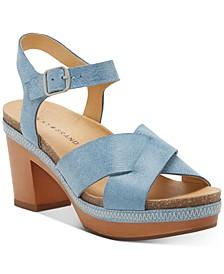Women's Hariva Wooden Platform Sandals