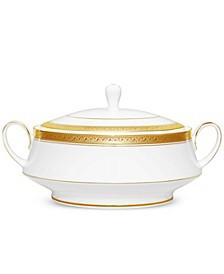 Crestwood Gold Covered Vegetable Bowl