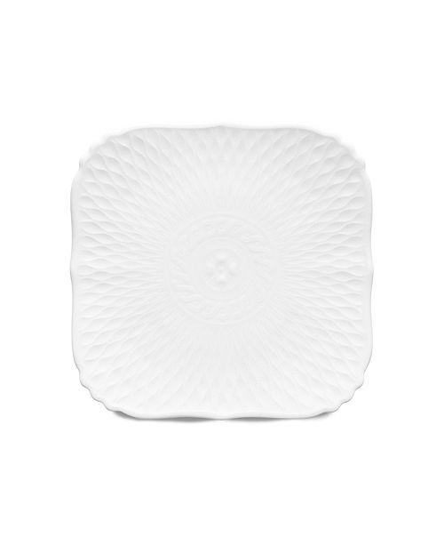 Noritake Cher Blanc  Square Bread & Butter Plate