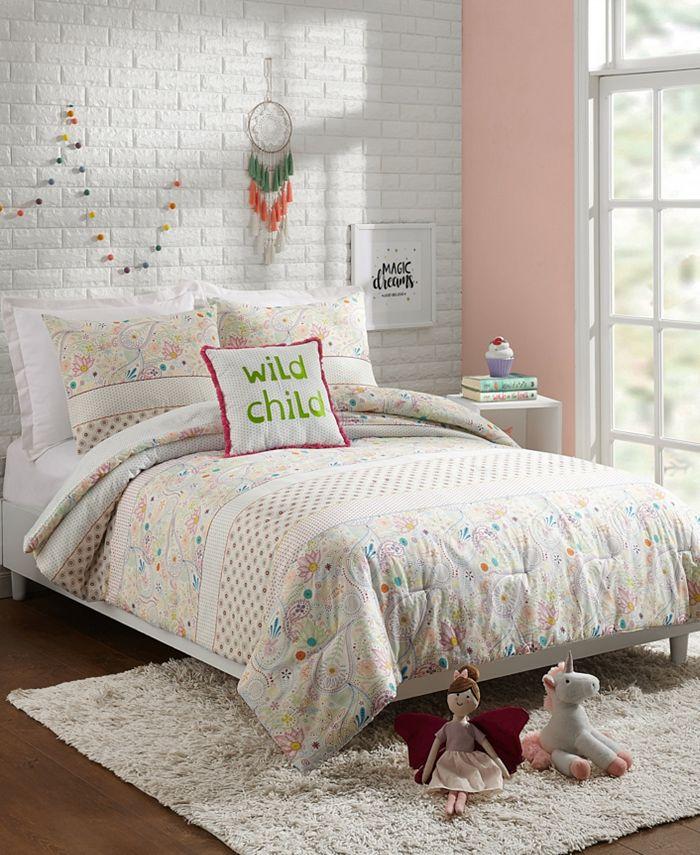 Jessica Simpson - Whimsical Paisley 3-Piece Twin Comforter Set