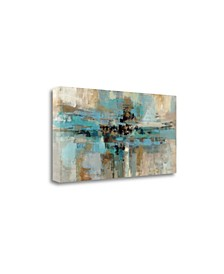 Morning Fjord by Silvia Vassileva Giclee Print on Gallery Wrap Canvas