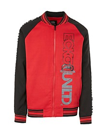 Men's Vert Printed Take Varsity Jacket