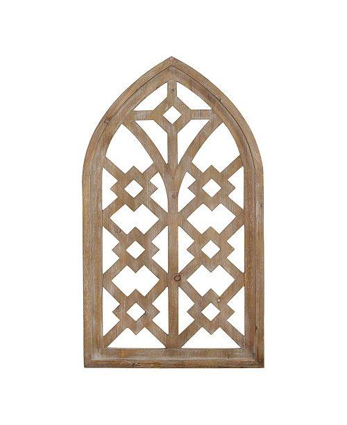 Wood Arch Wall Decor