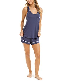 Women's Tank & Shorts Pajama Set, Created for Macy's