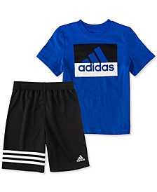 Toddler Boys Tee and Short Set