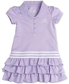 Little Girls Tiered Ruffle Polo Dress