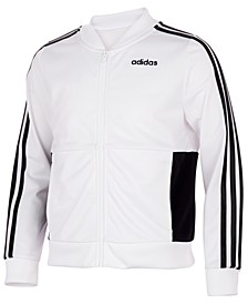 Big Girls Colorblocked Tricot Logo Track Jacket