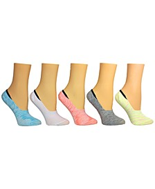 Women's 5-Pk. Random Feed Yarn Foot Liner Socks