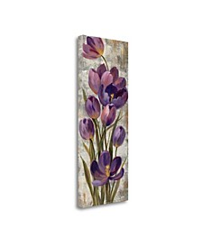 Royal Purple Tulips I by Silvia Vassileva Giclee Print on Gallery Wrap Canvas