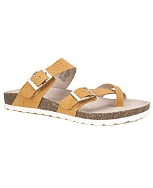 Women's Gracie Footbed Sandals
