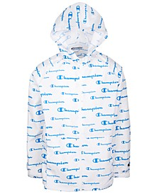 Little Boys Allover Logo Script Windbreaker
