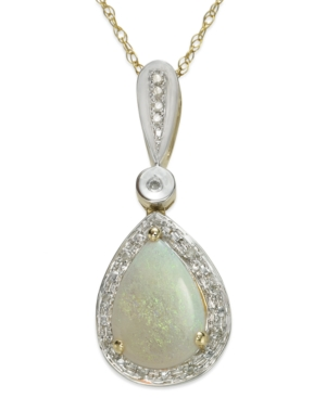 Opal (7/8 ct. t.w.) and...