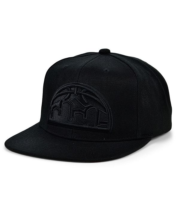 Mitchell & Ness Denver Nuggets Under The Black Snapback Cap