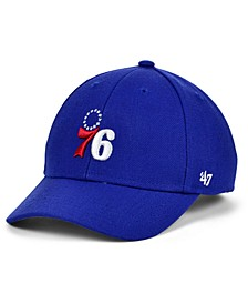 Boys' Philadelphia 76ers Team Color MVP Cap