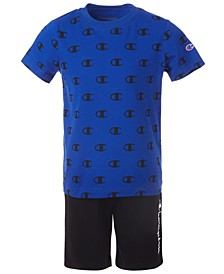 Toddler Boys 2-Pc. C Logo T-Shirt & Logo Shorts Set