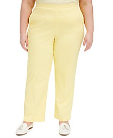Plus Size Spring Lake Pull-On Pants
