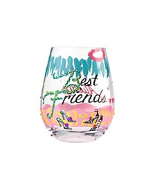 LOLITA Best Friends Stemless Wine Glass