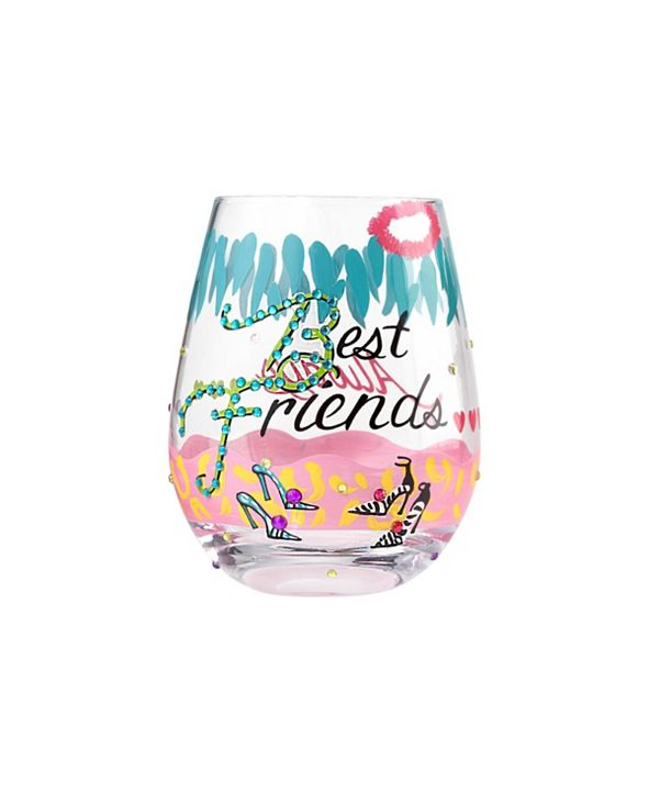 Enesco LOLITA Best Friends Stemless Wine Glass
