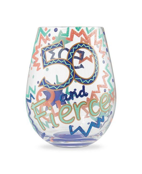 Enesco LOLITA 50 and Fierce Stemless Wine Glass