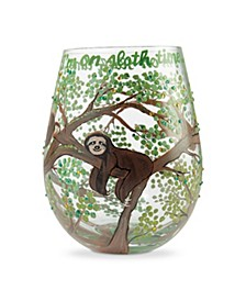 LOLITA Sloth Time Stemless Wine Glass