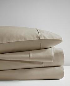 525 Thread Count 4 Piece Full Cotton Rich Sheet Set