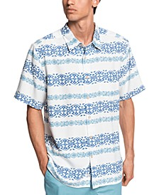 Quiksilver Men's Tapa Mood Short Sleeve Shirt