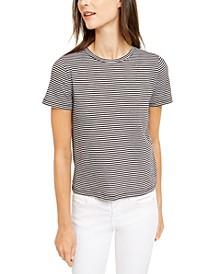Striped Cotton Baby T-Shirt, Regular & Petite Sizes