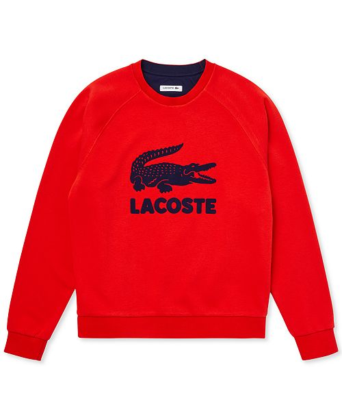 Lacoste Women's Lightweight French Terry Logo Sweatshirt
