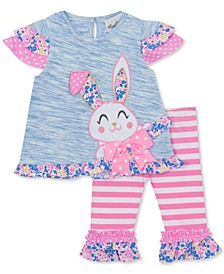 Baby Girls 2-Pc. Bunny Tunic & Leggings Set