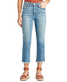 The Stiletto Cropped Bootcut Jeans