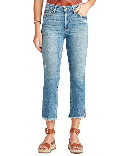 Sam Edelman Denim The Stiletto Cropped Bootcut Jeans